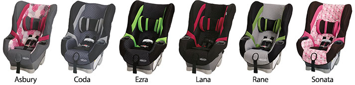 Graco My Ride 65 LX Fabrics And Colors
